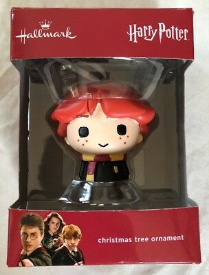 Hallmark Harry Potter Ron Weasley Christmas Tree Ornament (2016) New