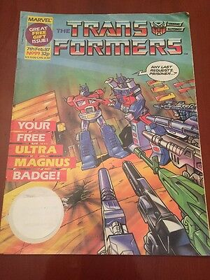 Marvel UK Transformers G1 Issue Number 99 February 1987