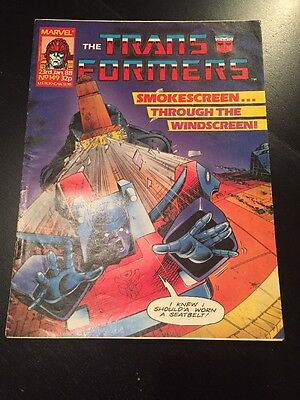 Marvel UK Transformers G1 Issue Number 149 January 1988