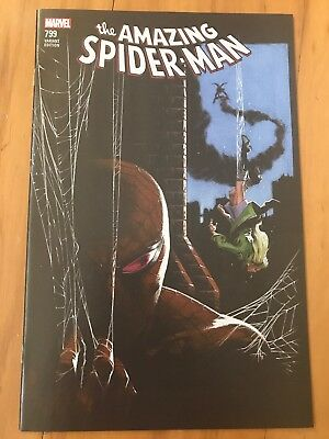 AMAZING SPIDER-MAN #799 COMICXPOSURE variant by DELLOTTO death of Gwen Stacy NM
