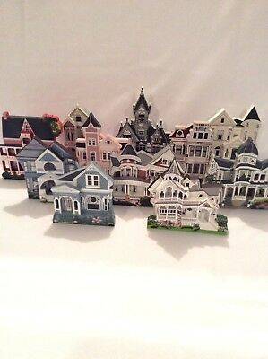 Lot of 11 - California - Shelia's Collectible Houses