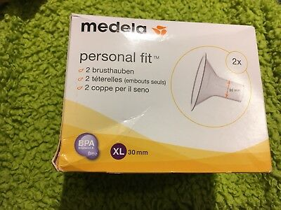 Medela, Size XL (30mm), BNIB, Personal Fit Breastshields