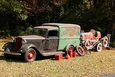 """1934 Dodge KCL- Panel Delivery  1934 Dodge """" Humpback"""" Panel Delivery Truck - Resto-Rod"""