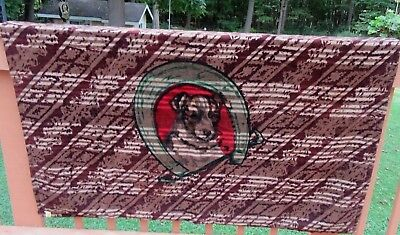 Antique Chase Horse Hair Carriage Buggy Sleigh Lap Blanket  Dog & Horse Collar