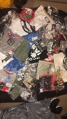 Job Lot Of 35 X T Shirt Tops All New With Tags Wholesale Market Trade Mixed