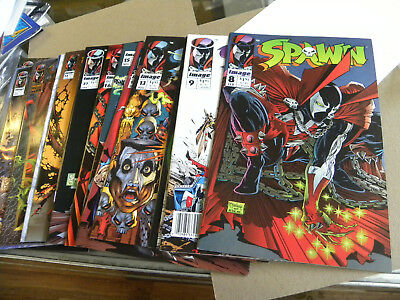 Image 1993 18 issues SPAWN #8 to #58 Tod McFarlane qq