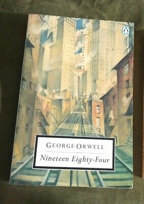Nineteen Eighty-Four by George Orwell Paperback Penguin Classics Edition