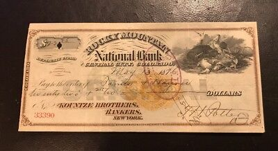 Rocky Mountain National Bank May 1876