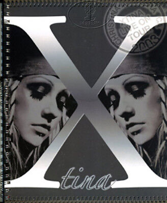 CHRISTINA AGUILERA 2003 Tour Concert Program Book Tour Book