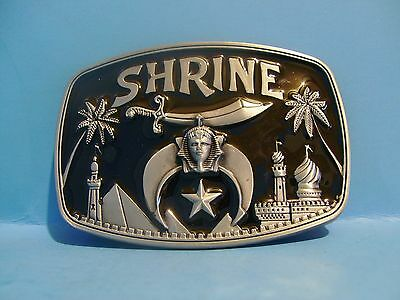 Beautiful Shriner belt buckle Free Shipping in USA
