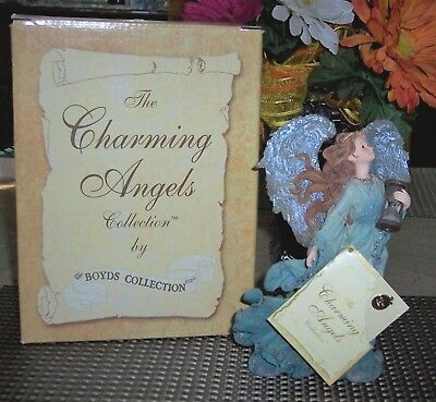Charming Angels Collection (Boyds) TESSA Guardian of Time Limited Ed