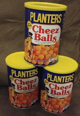 Planters Cheez Balls LOT OF 3 2.75oz Cheese Balls 2018 Release IN HAND FAST SHIP