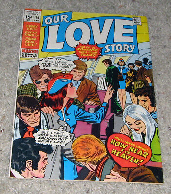 Our Love Story 10 VF Marvel Romance   Lot  RARE in HG
