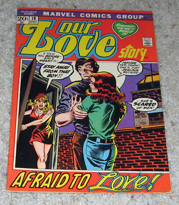 Our Love Story 19 VF- Marvel Romance   Lot  RARE in HG
