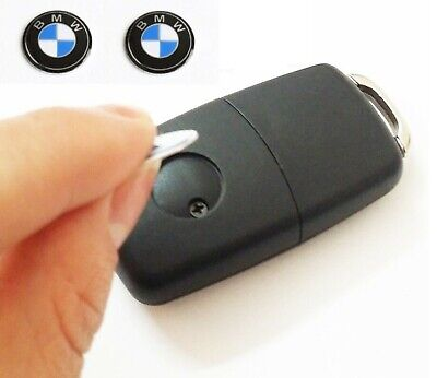2 x 14mm BMW Replacement Key Fob Badge Sticker