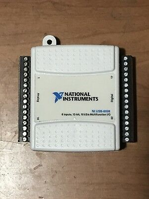 National Instruments NI USB-6008 *Tested*