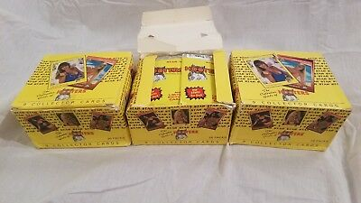 Rare 1992 Hooters Girls Star Trading Cards lot of 3 boxes sealed 36 packs a box