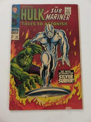 Tales to Astonish #93 Silver Surfer Crossover Outside of Fantastic Four Hulk