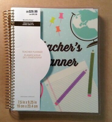 """Creative Year """"TEACHER'S"""" Medium Planner by Recollections - July 2018-June 2019"""