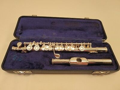 Gemeinhardt 4SH Piccolo Solid Silver Head *Needs Professional Servicing*