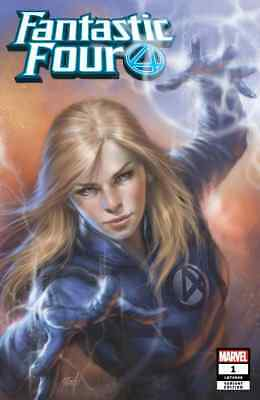 Fantastic Four 1 Comicxposure Lucio Parrillo Hero Invisible Woman Sue Variant