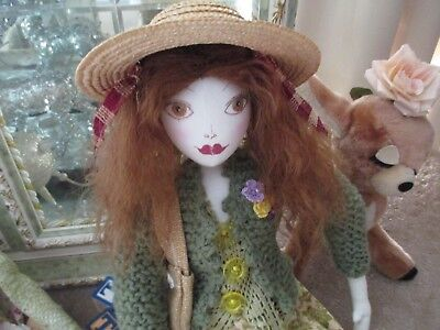 HANDMADE CLOTH DOLL 'Helena'