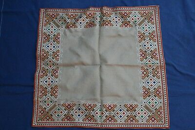 Vintage Handmade Tablecloth Embrodery 121