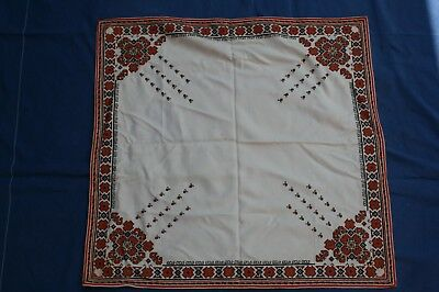 Vintage Handmade Tablecloth Embrodery 122