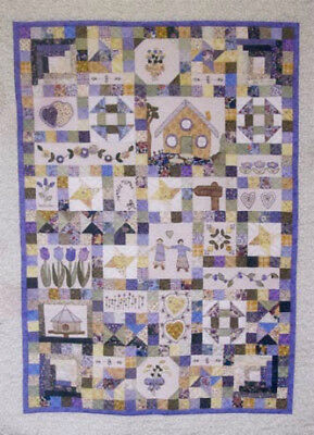 Lavender Hill quilt pattern by Therese Hylton