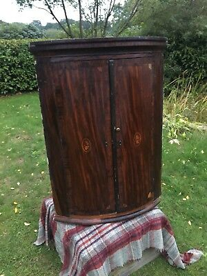 Antique George III corner Medicine Cupboard