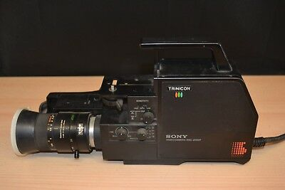 Vintage Sony Video camera HVC-2000p In Case