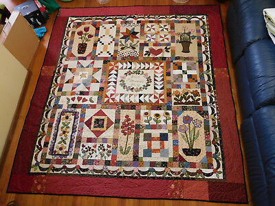 Country Album -  quilt pattern by Therese Hylton