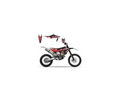 Husqvarna Te-Tc-08/13-Kit Déco Blackbird Dream Graphic Iii Rouge-78177149