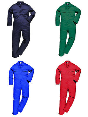 Portwest Mens Boiler suit S999 Overalls Coverall Workwear Student Mechanics LOT