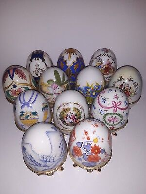 lot 12 oeuf style faberge