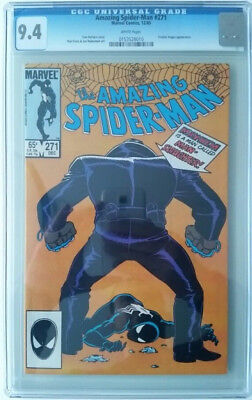 Amazing Spider-Man #271 - CGC Graded 9.4 - White Pages