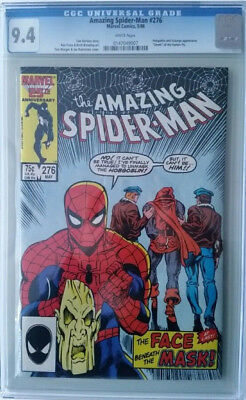 Amazing Spider-Man #276 - CGC Graded 9.4 - White Pages