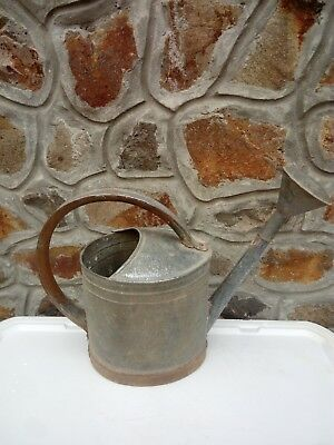 Vintage Metal Watering Can With Sprinkler Garden House