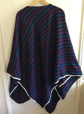 Authentic Quality Poncho Costume Ideal For Stage, Theatre or Fancy Dress