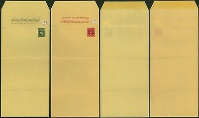 Morocco Agencies - Lot of 2 Postal stationery Wrapper 34546
