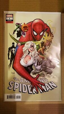 The Amazing Spider-Man Vol 5 #1 Party Variant Greg Land 2018 Marvel Near Mint Nm