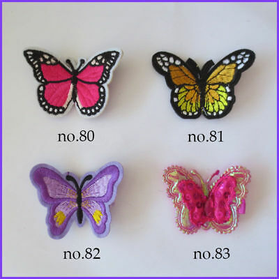 50 Good Girl Ultrasonic Embossing Pearl Butterfly Clip Accessories Wholesale