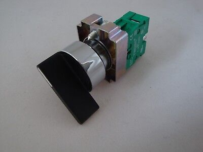 Selector Switch 2 Position Spring Return  Extended Handle with 1 N/O Contact