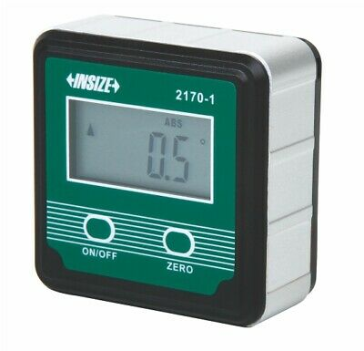 Insize Electronic Digital Level and Protractor, 4 90 (2170-1)
