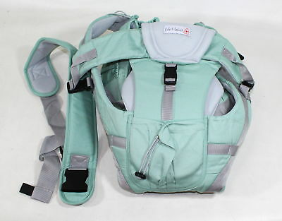 Baby Carrier-Ergonomic 360 Baby Carrier-Easy Put On 6 Safe/Comfortable Positions