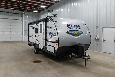 New 2019 Puma Xle Lite 17Qbc Rear Bunks Travel Trailer Only 3453Lbs And Sleeps 6