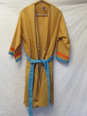 VINTAGE 1960/70s MENS SMOKING JACKET / ROBE / GOWN, MARSHALL FIELD & Co, Large