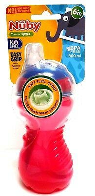 Nuby Baby Toddler Kids Spill Proof Feeding Bottle Independent Drinking 6+ Months