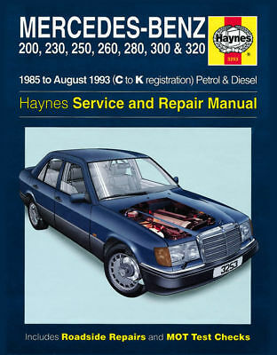 Haynes Manual 3253 Mercedes E-Class 200E 230E 260E 280E 300E 320E Coupe NEW