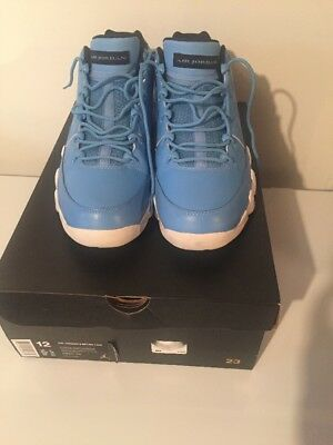 best website cf41c 0076e ... italy nike air jordan 9 retro low university carolina blue size 12  513f8 0d0af